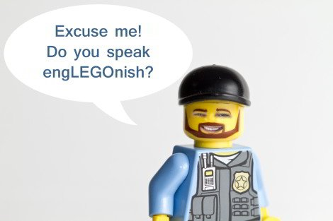 Bild: Do you speak English (EngLEGOnish)?